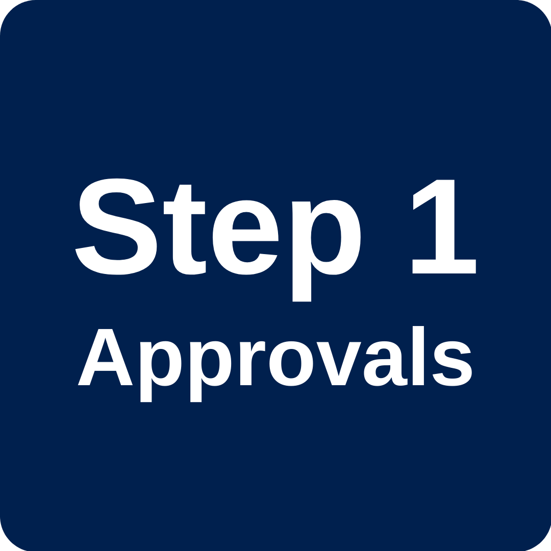 Step 1 Supervisor and Committee Approvals