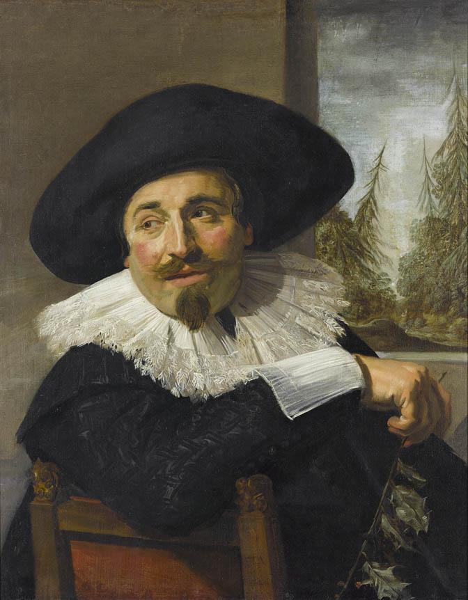 Frans Hals, Isaac Abrahamsz. Massa, 1626, oil on canvas.