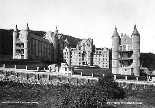 Montreal's Royal Victoria Hospital opened in 1893 and was considered one of the finest hospital's in North America at the time.