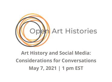 Open Art Histories logo with title of workshop