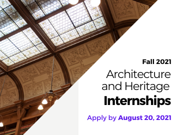 Architecture and Heritage Internships (Fall 2021)