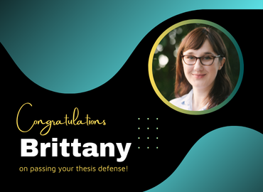Congratulations to Brittany Myburgh!