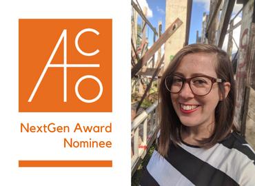Congratulations to Jessica Mace, ACO NextGen Award Nominee