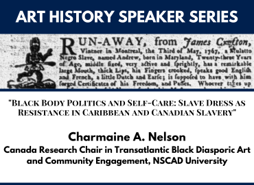 Speaker Series Jan 2021 Thumbnail - Charmaine Nelson