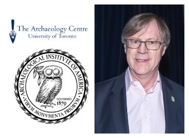 Paul A. Cartledge profile pic beside AIA logo