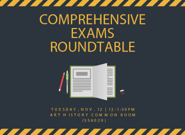 Comprehensive Exams Roundtable Nov 12 2019