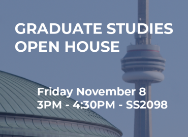Graduate Open House Nov 8 2019