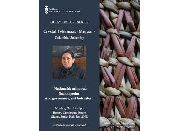 Art History Guest Lecture poster_Migwans