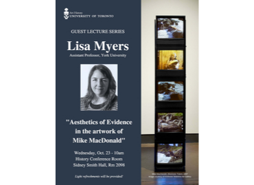 Lisa Myers Art History Guest Lecture poster
