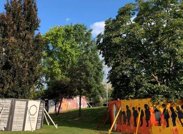 'Tree Protection Zone,' a Public Art Project on Hart House Commons, Transformed by Indigenous Art